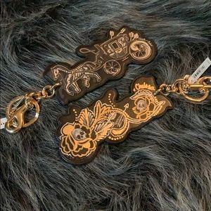 NWT Coach x Chelsea Champlain custom key charm